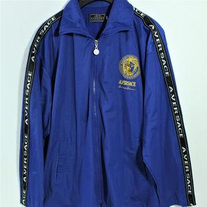 Alfredo Versace Jackets   Coats - VTG A. Versace Blue Windbreaker Jacket  Diffusion 4175e2a7e13f8